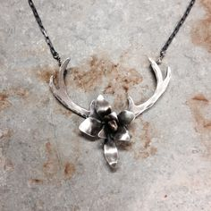 Antler necklace by M* Jewelry