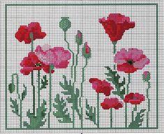 Beaded Cross Stitch, Cross Stitch Borders, Simple Cross Stitch, Cross Stitch Flowers, Cross Stitch Designs, Cross Stitching, Cross Stitch Embroidery, Embroidery Patterns, Cross Stitch Patterns