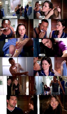 Derek: You know this isn't normal. Is anything on Grey's normal?