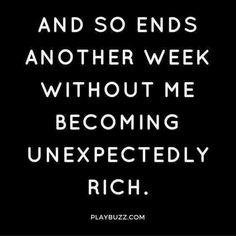I have faith....next week ;)