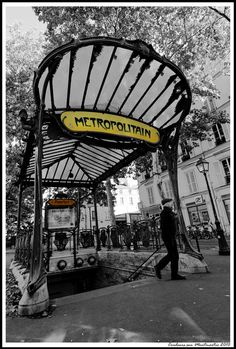 http://www.printedart.com/content/metro-abbesses-montmartre-paris    Jerome Prince: Metro Abbesses    Available with acrylic finish for a float-on-the-wall display format in sizes up to 41 x 60 inches.