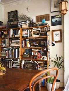 Real home: artist's rural abode full of vintage treasures - The Interiors Addict Bookshelves, Bookcase, Sweet Home, Annie, Artist, Room, Poetry, Houses, Interiors