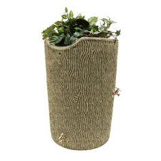 Good Ideas Impressions Bark Rain Saver Sandstone