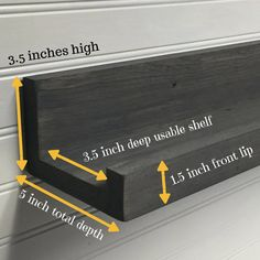 Picture Ledge picture ledges ledge shelf gallery shelf spice shelf rustic wooden shelves inches long single shelf or set of 2 Picture Ledge Shelf, Photo Shelf, Photo Ledge Display, Wall Ledge Shelf, Diy Wall Shelves, Display Shelves, Display Ideas, Diy Deco Rangement, Rustic Wooden Shelves
