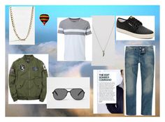 """far away"" by maybejustonetear ❤ liked on Polyvore featuring ASOS, Urban Outfitters, adidas, River Island, Witchery, men's fashion and menswear"