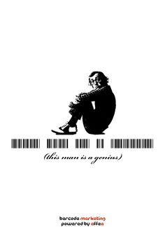 Barcode Woody Allen: This man is a genius
