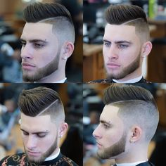 awesome 85 Modern Hard Part Haircut Ideas - Choose Yours
