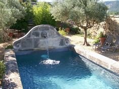 Small Swimming Pools, Small Backyard Pools, Small Pools, Swimming Pools Backyard, Swimming Pool Designs, Pool Landscaping, Jacuzzi, Pool Water Features, Plunge Pool