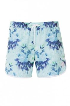 Supremacy Trigger Swim Shorts Light Blue - #Floral #Pattern trend for menswear SS14