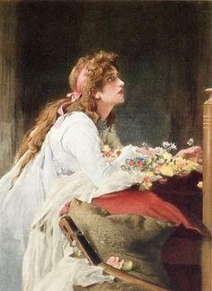 Shakespeare's Heroines  Marcus Stone. Ophelia