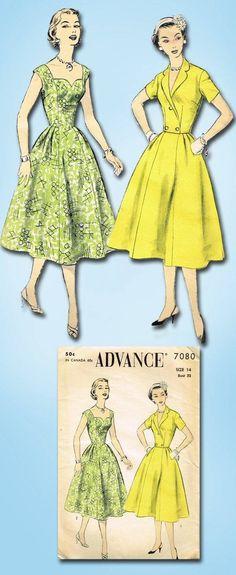 1950s Original Gorgeous Unused Sweetheart Sun Dress Jacket Pattern Sz 32 B | eBay