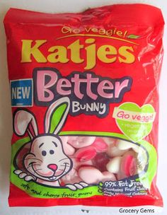 Grocery Gems: Katjes Better Bunny (Veggie sweets)