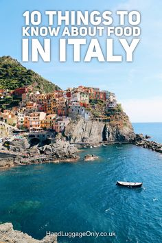 10 Quick Things You Need To Know About Food In Italy - Hand Luggage Only…