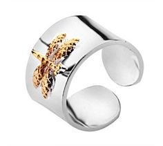 Tiffany Outlet Dragonfly cuff ring    $29.99  SAVE: 89% OFF