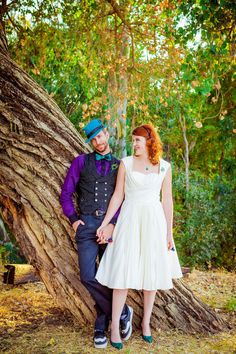 wedding centerpieces Pleated Skirt Tea Length Wedding Dress – Hey Little Lucy wedding flowers