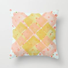 Pillow Cover Flower Pillow Throw Pillow Nursery by twiggsdesigns, $35.00