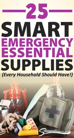 Every household needs emergency items stored in case of well, emergencies, natural disasters, power outages, etc. I've put together a list of the main items in an emergency kit full of preparedness supplies to stockpile in your pantry, basement, garage, etc. Breathe easier knowing you have plenty of the essential survival supply items. #emergencypreparednesskit #emergencypreparedness #emergencykit #emergencysupplieslist #emergencysupplies
