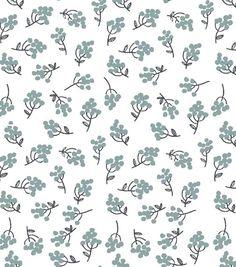 Lotta Jansdotter Quilt Fabric Klase Light Blue