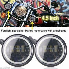 Cheap light led light, Buy Quality halo fog lights directly from China harley light led Suppliers: Pair Moto led fog light led Auxiliary Driving lamp headlight halo ring Fit most harley Davidson models Angel Eyes, Led Headlights, Car Lights, Happy Fathers Day, Harley Davidson, Jeep, Cool Things To Buy, Halo, Watch