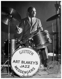 Art Blakey, 1951 by William PoPsie Randolph — Mr Musichead Gallery Jazz Artists, Jazz Musicians, Music Artists, Art Blakey, Montreux Jazz, Musician Photography, Photography Ideas, Hard Bop, Jazz Players