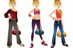 Swanky workout wear ideas: