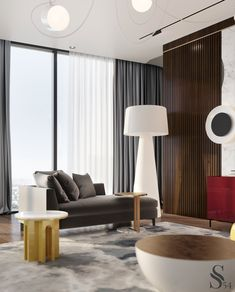 "Portfolio: City view apartment in ""Moscow-City"" centre Bedroom Furniture Design, Girl Bedroom Designs, Bedroom Decor, Contemporary Interior, Modern Interior Design, Interior Design Inspiration, City View Apartment, Apartment Design, New Modern House"
