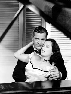 Dana Andrews & Merle Oberon from Night Song (1947)