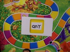 Candy Land sight word games.