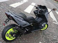 Tmax Yamaha, Yamaha Nmax, Yamaha Scooter, Scooter Motorcycle, Yamaha Motorcycles, E Scooter, Scooter Custom, Custom Bikes, Honda Ruckus
