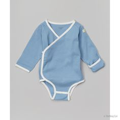 Kimono Snap Bodysuit - blue