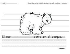 Spanish Adjectives Writing