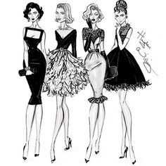 ♡Liz, Grace, My Girls Marilyn And Aubrey By Hayden Williams♡