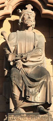 King Aethelwulf of Wessex  the English (795 - 858)