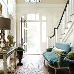 black bannister via atlanta homes lifestyles