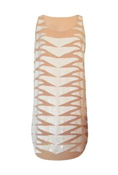 chic pale blush shift dress with white sequins. cute wedding, date night, or any summer party dress! #getfussed