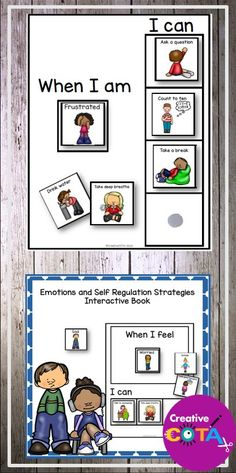 This is a emotion sorting activity that can also be use to make books for individual students. Use this self regulation product as an adjunct to any self regulation/behavior/social curriculum (How Does Your Engine Run™️, PBIS™️, SEL™️, ZONEs of Regulation™️...) for fun ways to review and master the material.  Work on self regulation skills and coping skills. Help students learn to choose strategies that will help them regulate their behaviors to match the situation.