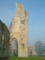 Glastonbury Abbey (and perhaps a climb up the Tor)