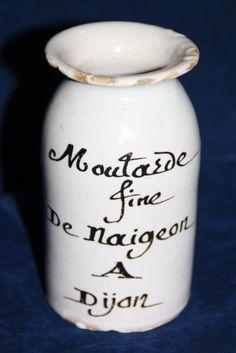 pot de moutarde de Dijon XVIII siecle