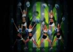"""Zoo Fever Cheerleaders on the Black Kids' music video: """"I'm not gonna teach your boyfriend how to dance with you"""" www.londoncheerleaders.co.uk"""