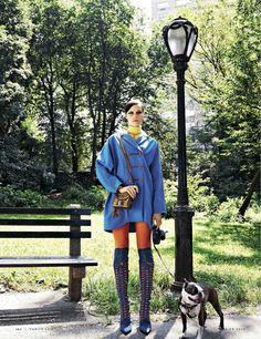 visual optimism; fashion editorials, shows, campaigns & more!: voglio quella borsa: egle tvirbutaite by stewart shining for vanity fair italia 17th september 2014