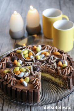 Torte Recepti, Pudding Desserts, Gluten Free Recipes, Cake Recipes, Sweet Treats, Food And Drink, Sweets, Dishes, Cookies