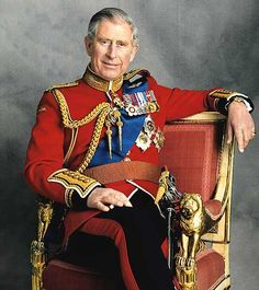 Prince Charles in military uniform