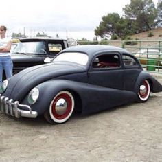 VW custom molded Bug cruiser.