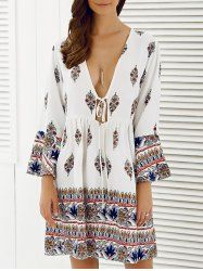 SHARE & Get it FREE | Flower Print Plunging Neck DressFor Fashion Lovers only:80,000+ Items • New Arrivals Daily • Affordable Casual to Chic for Every Occasion Join Sammydress: Get YOUR $50 NOW!