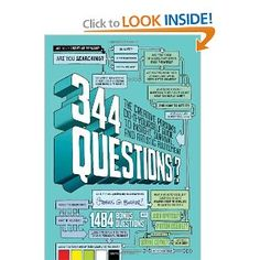 344 Questions: The Creative Person's Do-It-Yourself Guide to Insight, Survival, and Artistic Fulfillment (Voices That Matter) #books #creativity #career $10.94
