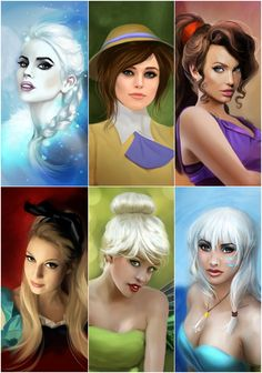 My Disney Princesses 4 by MartaDeWinter.deviantart.com on @DeviantArt