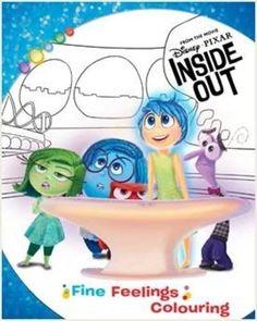 Disney|Pixar INSIDE OUT Fine Feelings Colouring
