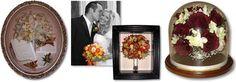 Suspended In Time Of Monmouth: Preserving The Moments That Matter. Farmingdale, NJ. More info: http://www.njwedding.com/vendorDisplay.cfm?vendorid=10110 #NJWedding #FlowerPreservation #FloralDesign #Keepsakes #Mementos #Weddings #NewJersey