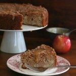 Low carb caramel apple cake | All Day I Dream About Food