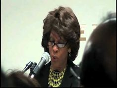 Say What? Maxine Waters, Democrat, Tells Islamic Society That Shariah Law is Compatible with US Constitution (Video) | John Hawkins' Right Wing News